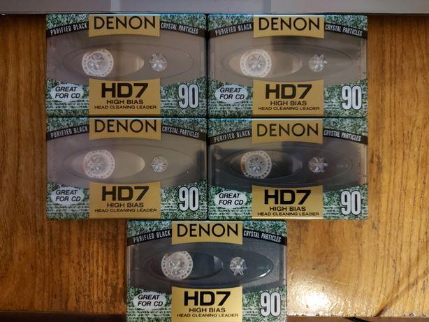 Kaseta Denon HD7 90, nowa, Japan, 2 szt