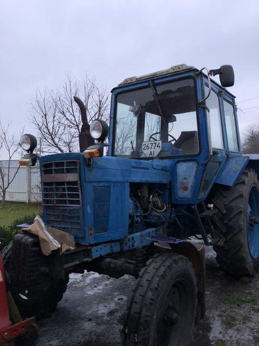 Трактор МТЗ 80 Фастов - изображение 1