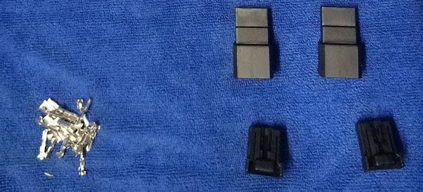 Соединительные фишки 175507-2 6 pin для зеркал se приора (2 пары)