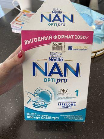 Продам детскую смесь NAN opti pro 1