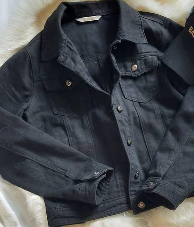 Джинсовый чёрный пиджак