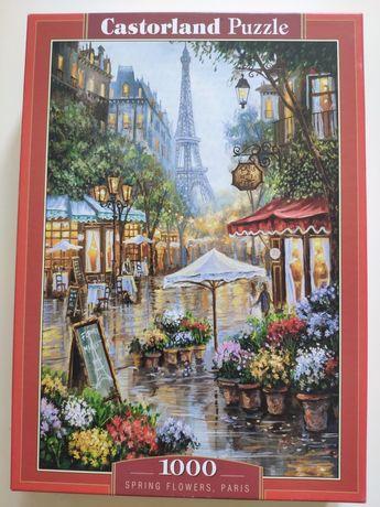 Puzzle Castorland 1000 Paryż za darmo