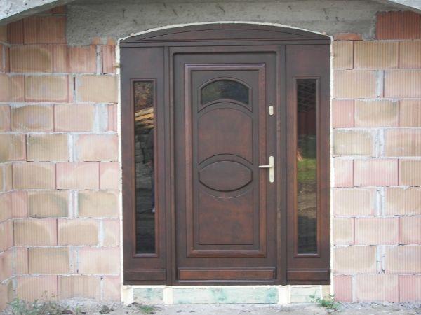 160 cm Drzwi + dwie dostawki boczne przeszklone SUPER OFERTA