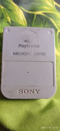 Playstation memory card карта памети оригинал