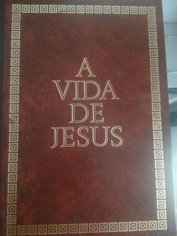 A vida de Jesus volumes 1,2,3,4
