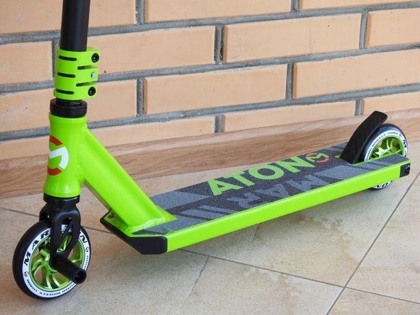Самокат Трюковый Maraton PDG HIC с пегами колеса алюминий, для трюков