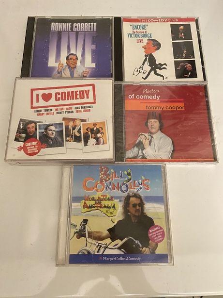CD Áudio de comédia britânica 5 CDs (1 duplo)