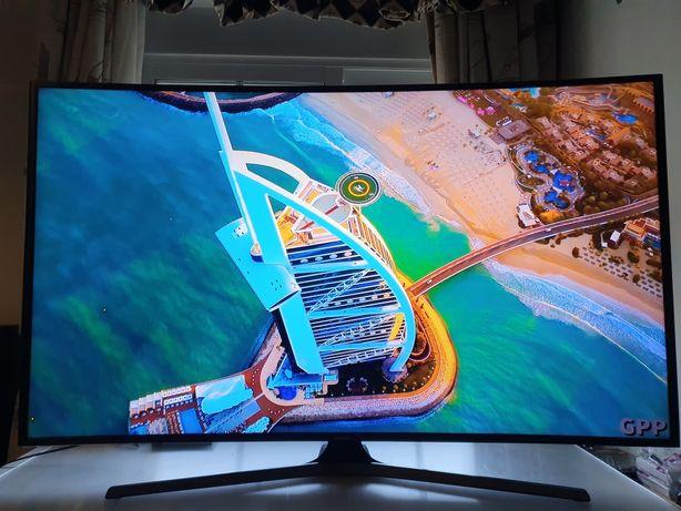 "Smart tv Samsung 4K curva 55"""