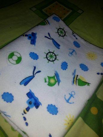 Пеленка байка, водонепроницаемая плюс подарок