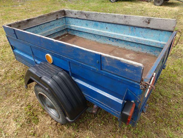 Przyczepa lekka SAM traktorek kosiarka quad