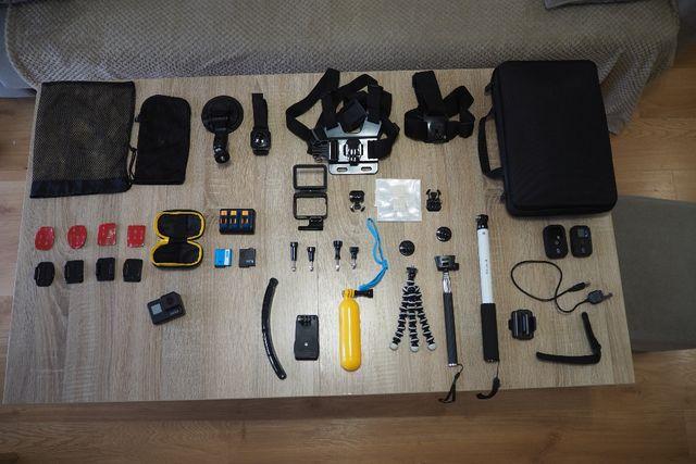 GoPro 7 black + pilot + ubezpieczenie 15.10.2022
