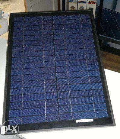 Painel fotovoltaico de 50 watts 12 voltes