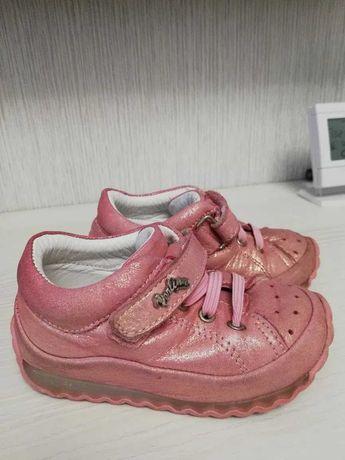 Кожанные туфельки perlina 13.5 см