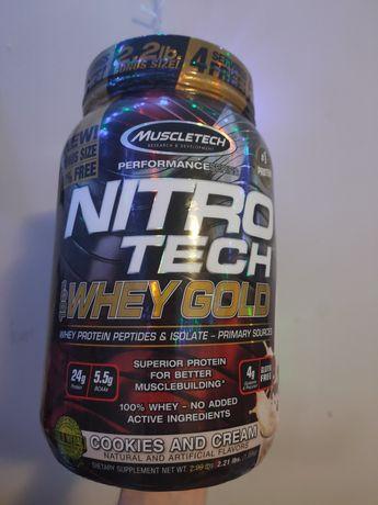 Odżywka białkowa Muscletech Nitro Tech 100% Whey Gold 1000g