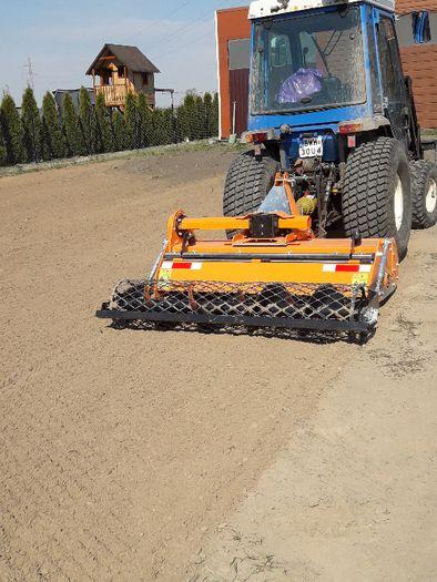Usługi glebogryzarką separacyjną, równanie ternu, koszenie trawników