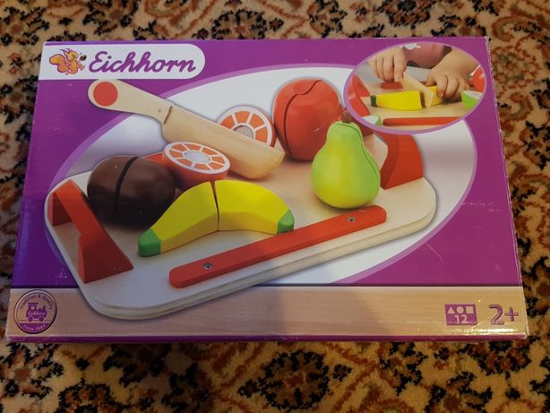 Eichhorn deska do krojenia z owocami