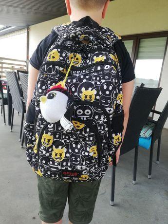 Plecak szkolny st. Majewski emotki
