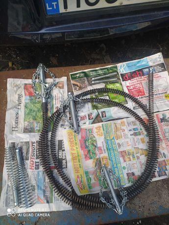 спирали пружины насадки для прочистки канализации