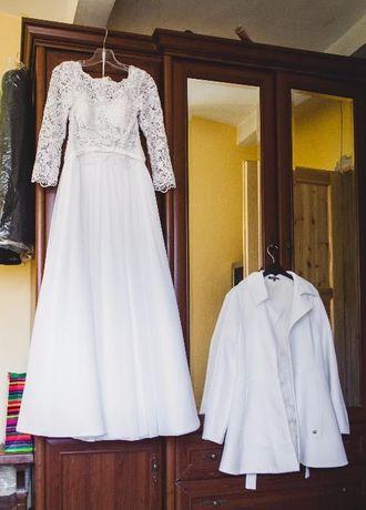 Suknia ślubna! Rozmiar 40.