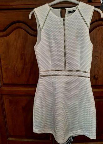 Vestido branco da Mango
