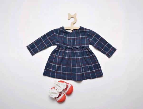 Sukienka Zara+podkolanówki 80-86cm okazja