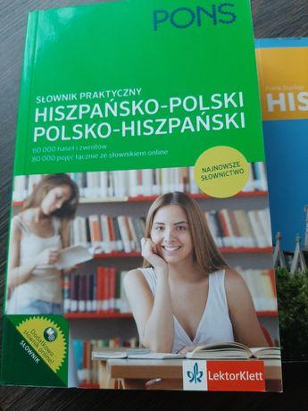 Slownik hiszpańsko- polski polsko-hiszpański