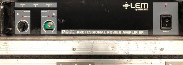 Amplificador LEM P500