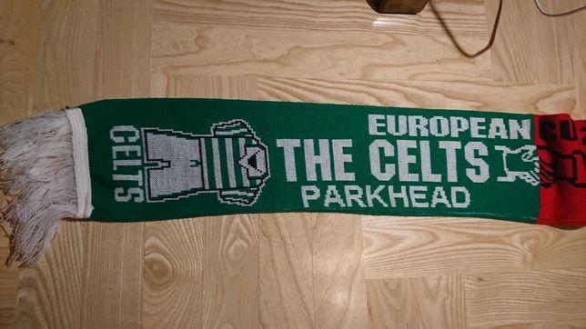 Pamiątkowy szalik kolekcjonerski Celtic vs. Milan