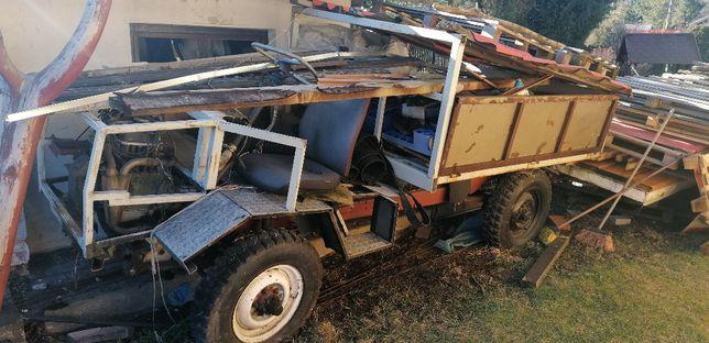 Traktor Sam fiat 126p 4x4