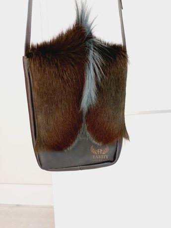 Torebka Rarity Handbags Africa skóra 100%