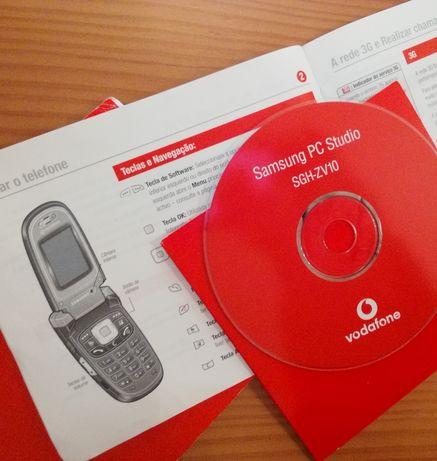 Samsung SGH-ZV10: software