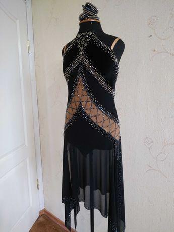 Платье латина для бальников