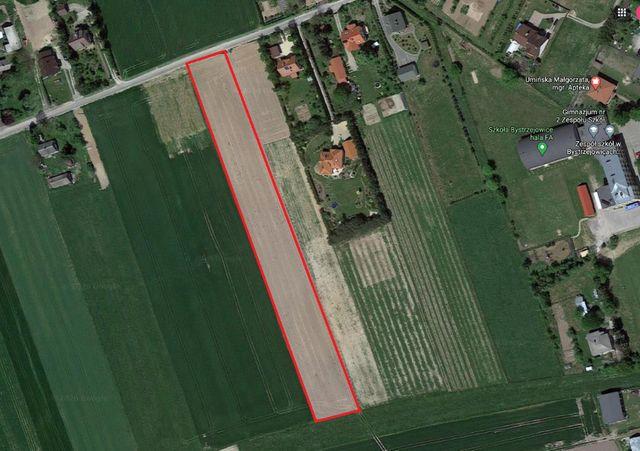 Działka rolno-budowlana Bystrzejowice Pierwsze