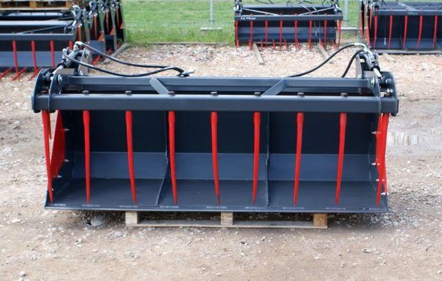 DOSTAWA Łyżko-krokodyl na ciągnik rolniczy traktor ładowacz czołowy