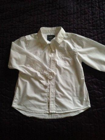 Biała koszula H&M 134cm