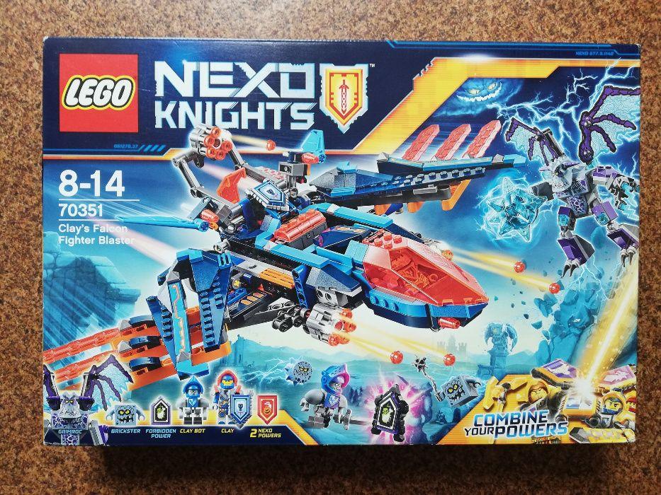 LEGO Nexo Knights 70351 Blasterowy myśliwiec Clay'a Nowy Śrem - image 1