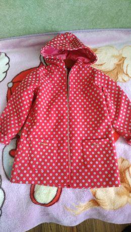 Стильное кашемировое пальто на девочку 3-5 лет