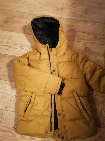 Kurtka zimowa chłopięca firmy Zara 140cm