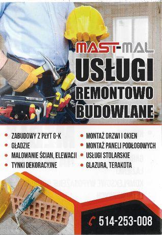 REMONTY MAST-MAL Usługi remontowo budowlane