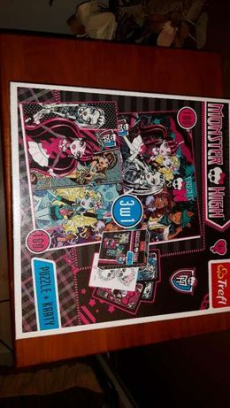Monster High 3w1 160 elementów