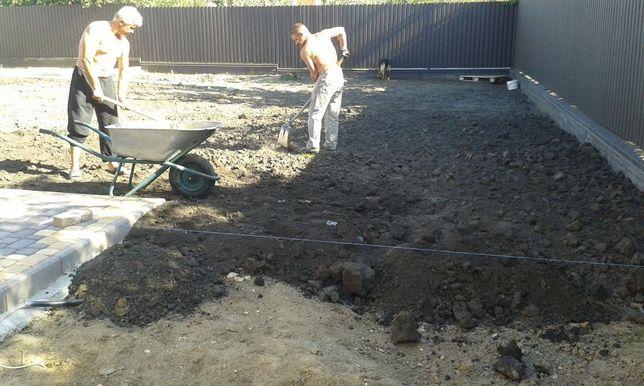 Земляні та будівельні роботи