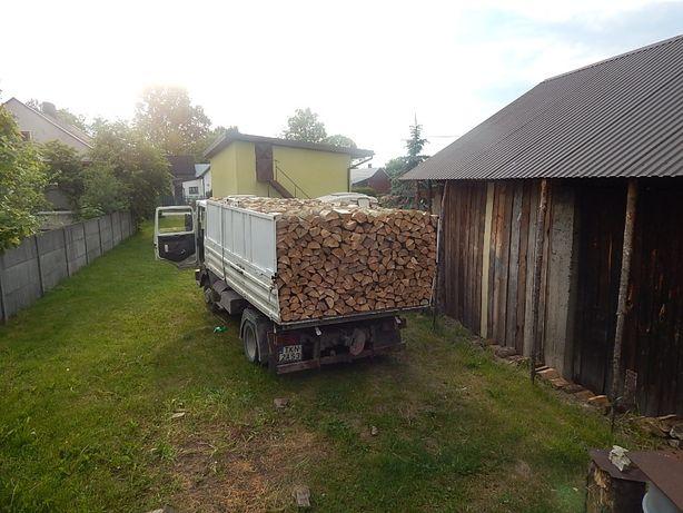 Drewno opałowe kominkowe papierówka paletówka s2a s2b kłoda