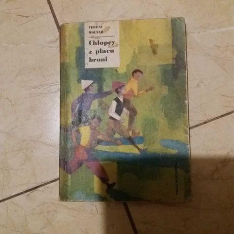 Książka Chłopcy z Placu broni Molnar