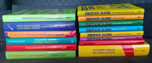 """Książki dla dzieci z serii """"Koszmarny Karolek"""" - Francesca Simon"""