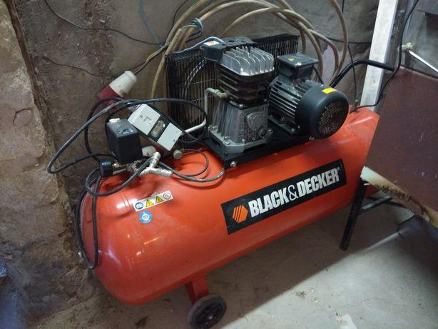 Compressor ar 200litros, trifásico