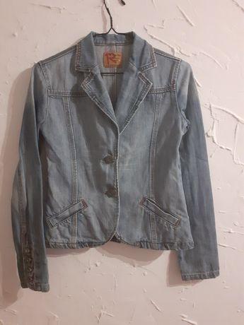 Kurtka żakiet jeansowa rozmiar M