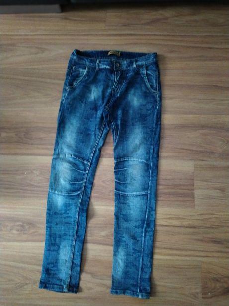 Spodnie jeansowe z koszulką
