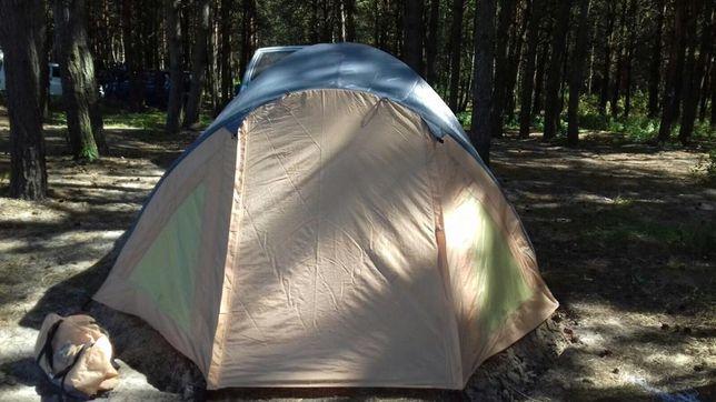4х местная комфортабельная палатка с большими окнами FT5044