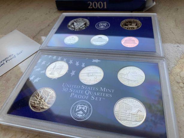 Доллар США 2001, Набор монет США 2001, Подарок для коллекционеров