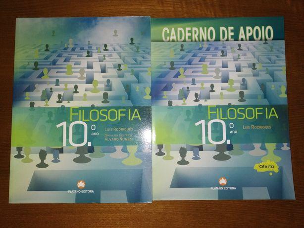 Manual + Caderno de Apoio Filosofia 10°ano - Plátano Editora